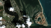 Seagrasses at Sailfish Flats - Sentinel 2 and MC GIS Imagery